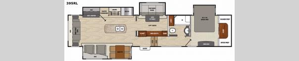 Brookstone 395RL Floorplan