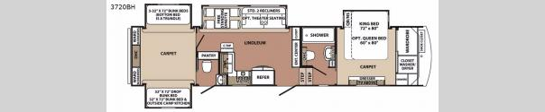 Blue Ridge 3720BH Floorplan