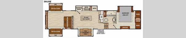 Phoenix 381RE Floorplan