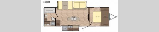 Sunset Trail Grand Reserve 26SI Floorplan