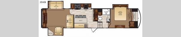 Wildcat 35WB Floorplan