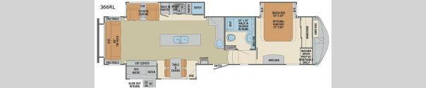 Columbus 366RL Floorplan