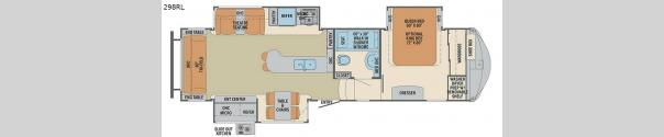 Columbus F298RL Floorplan