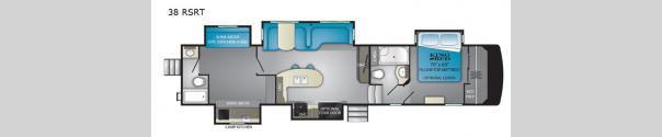 ElkRidge 38RSRT Floorplan