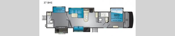 ElkRidge 37BHS Floorplan