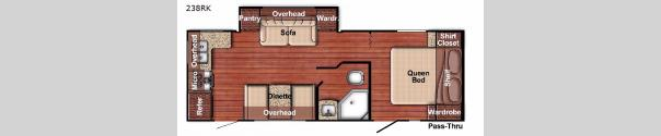 Kingsport 238RK Floorplan