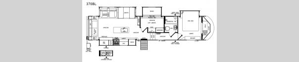 Wildwood Heritage Glen 370BL Floorplan