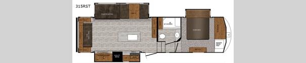 Crusader 315RST Floorplan