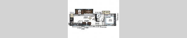 Rockwood Ultra Lite 2880WS Floorplan