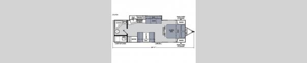Apex Ultra-Lite 251RBK Floorplan