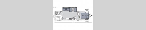 Apex Ultra-Lite 287BHS Floorplan