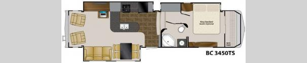 Big Country 3450TS Floorplan