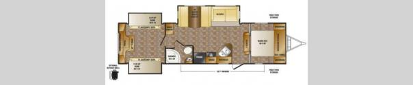 Hill Country HCT32FR Floorplan