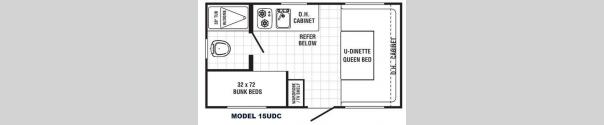 Canyon Cat 15UDC Floorplan