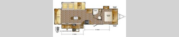 Hill Country HCT32RL Floorplan