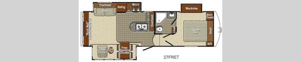 Canyon Trail 27FRET Floorplan
