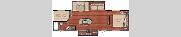 Kingsport 288ISL Floorplan