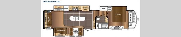 Sanibel 3601 Floorplan