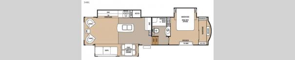 Cedar Creek 34RL Floorplan