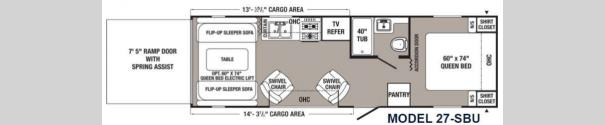 Puma Unleashed 27-SBU Floorplan