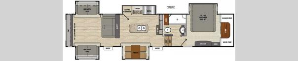 Brookstone 378RE Floorplan