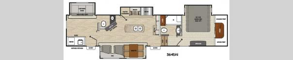 Brookstone 364DN Floorplan