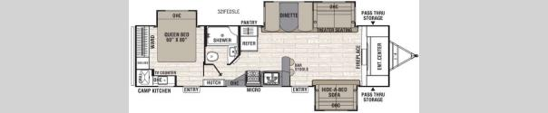 Freedom Express Liberty Edition 321FEDS Floorplan