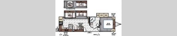 Rockwood Ultra Lite 2902WS Floorplan
