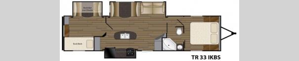 Trail Runner 33IKBS Floorplan