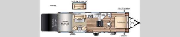 Stealth WA2817 Floorplan