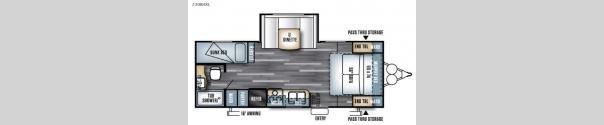 Salem Cruise Lite 230BHXL Floorplan