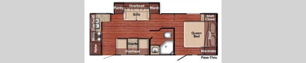 Kingsport Lite 238RK Floorplan