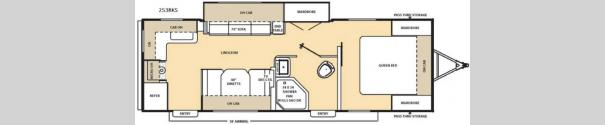 Catalina Legacy 253RKS Floorplan