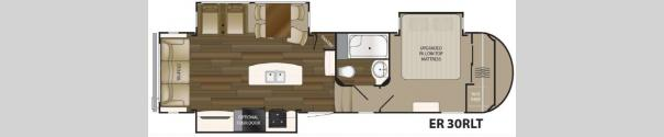 ElkRidge 30RLT Floorplan