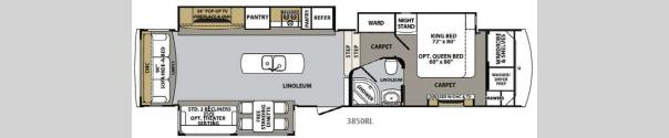 Cardinal Estate 3850RL Floorplan