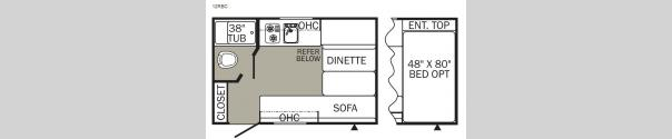 Puma XLE 12RBC Floorplan
