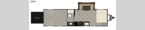 Trail Runner 28TH Floorplan