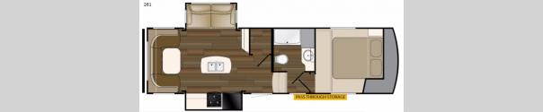 ElkRidge Xtreme Light 261 Floorplan