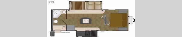 Wilderness 2775RB Floorplan