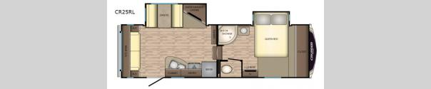 Cruiser Aire CR25RL Floorplan