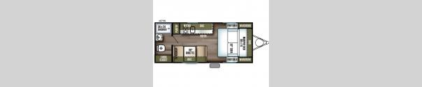 Salem FSX 187RB Floorplan