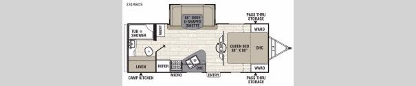 Freedom Express Liberty Edition 231RBDS Floorplan