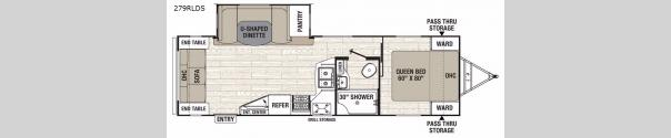 Freedom Express Liberty Edition 279RLDS Floorplan