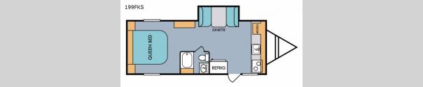 Retro 199FKS Floorplan