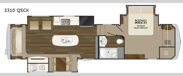 Big Country 3310 QSCK Floorplan