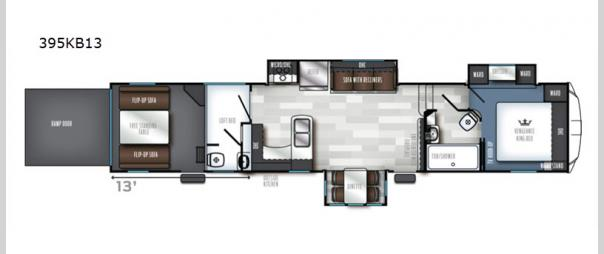 Vengeance Touring Edition 395KB13 Floorplan