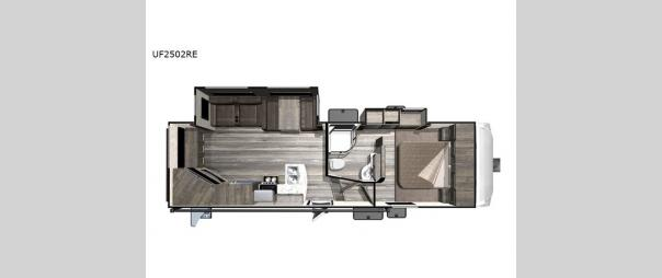 Open Range Ultra Lite UF2502RE Floorplan
