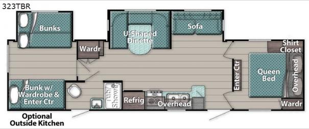 Kingsport 323TBR Floorplan