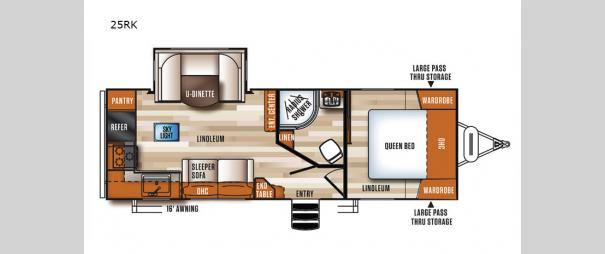 Vibe 25RK Floorplan