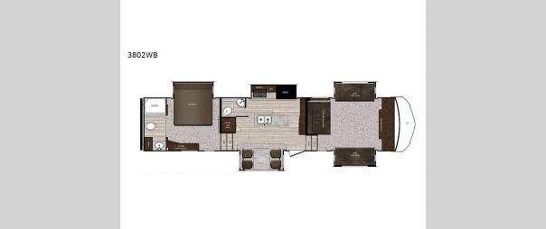 Sanibel 3802WB Floorplan